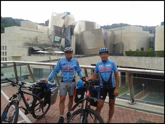 Grüße aus Bilbao von Hansi und Klaus