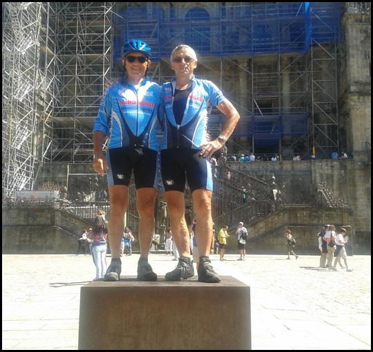 Am Ziel angekommen: Santiago de Compostela