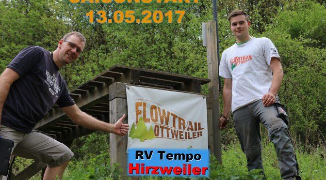 Saisoneröffnung am Flowtrail