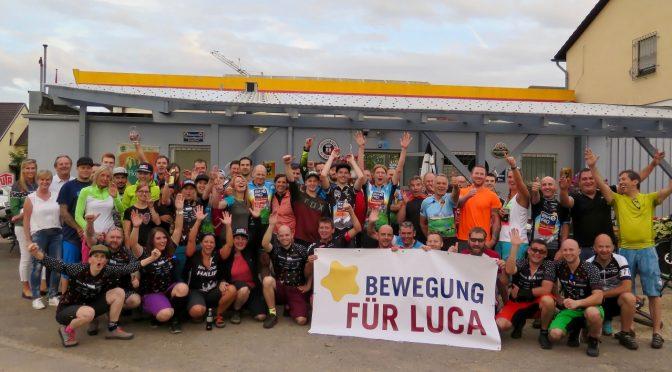 Bewegung für Luca